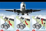 Sembunyi di Roda Pesawat, Penumpang Gelap Tewas ikut Penerbangan Nigeria-Amsterdam