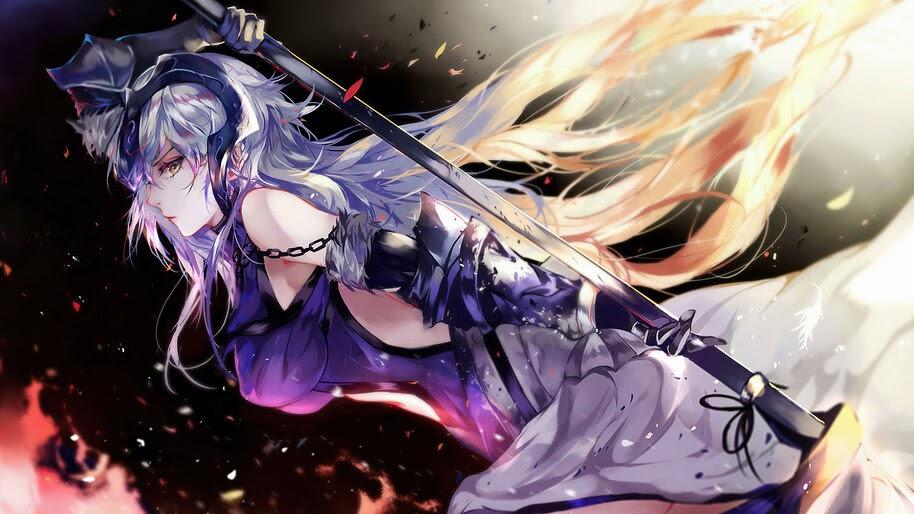 Alter, Jeanne d'Arc, Fate/Grand Order, 4K, #6.2316