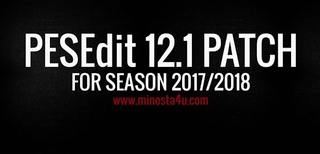 PESEdit 12.1 Patch PES 2013