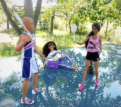 Mattel Barbie doll Puma Sport BMR ken Teresa reroot Skipper AA Made To Move MtM body