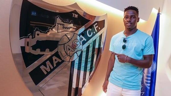Oficial: El Málaga renueva a Ibrahima Touré hasta 2023