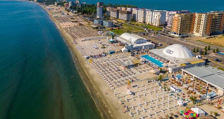 Plaja si statiunea Mamaia, municipiul Constanta