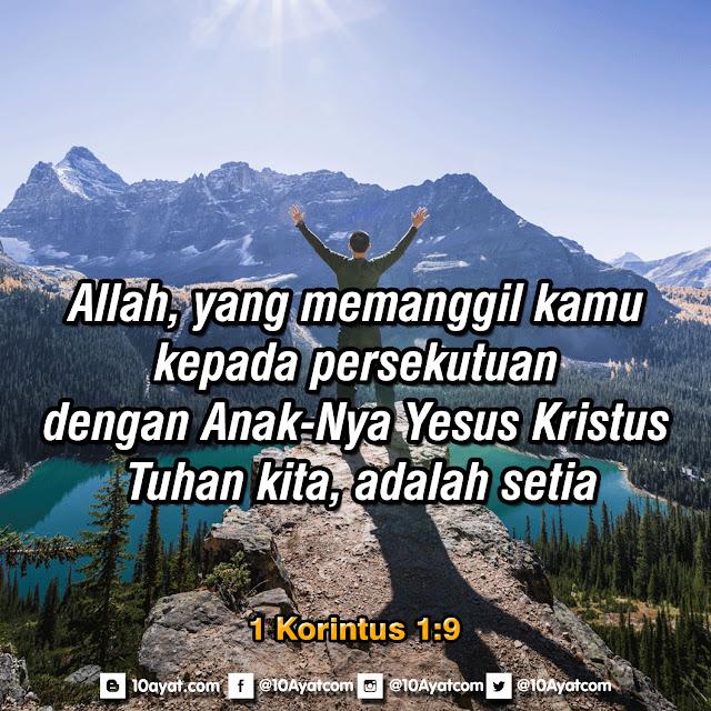1 Korintus 1:9