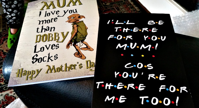My cards off my girls featuring Dobby off Harry Potter.