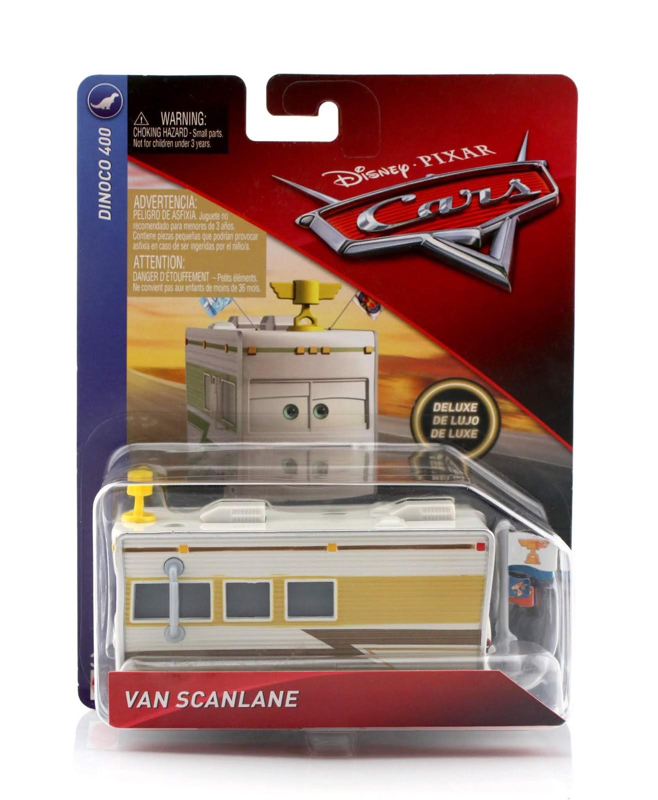 Cars van Scanlane diecast review