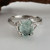 3.6 Carat Uncut Rough  Aquamarine