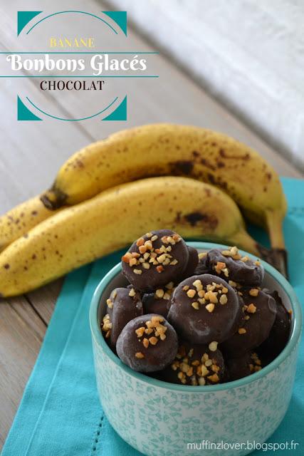 Recette Bonbons glacés banane - muffinzlover.blogspot.fr