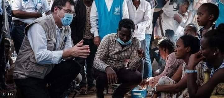 المساعدات الدولية تقدم المساعدات إلى مستشىفى آيدر في العاصمة ميكيلي