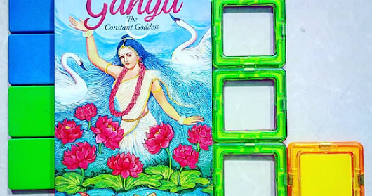 Mythological Fiction - Ganga The Constant Goddess by Anuja Chandramouli