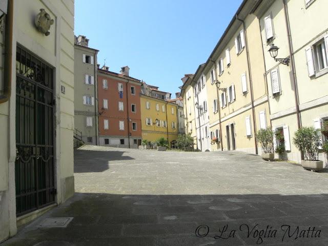 scorci di Cittavecchia a Trieste