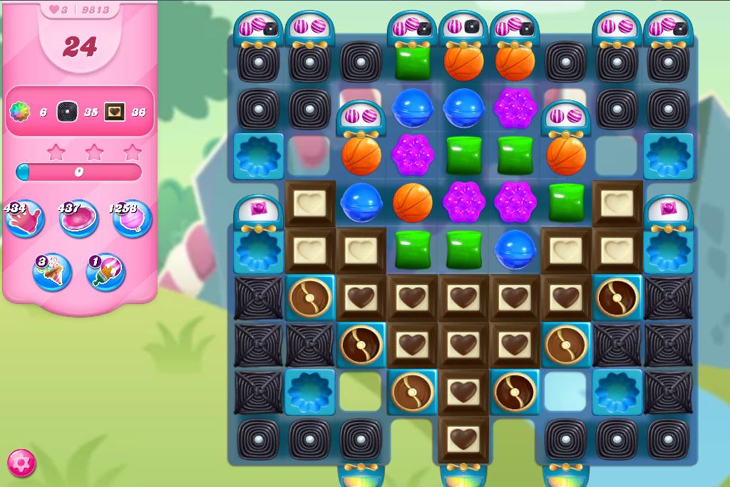 Candy Crush Saga level 9813