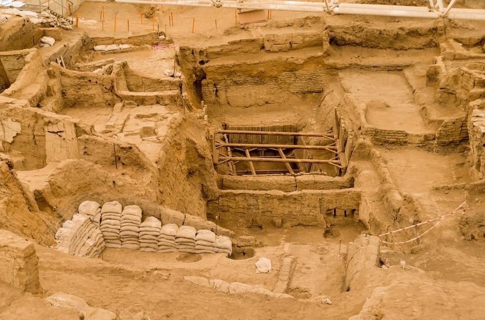konya'da gezilecek yerler çatalhöyük antik kenti