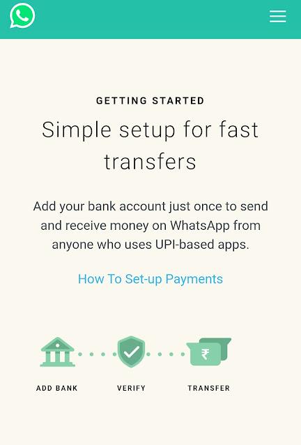 Whatsapp New Feture Send Money to Friends