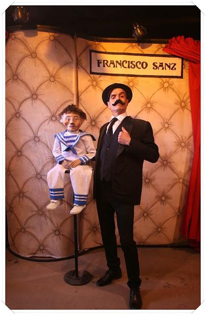 El ventrílocuo Francisco Sanz con Juanito