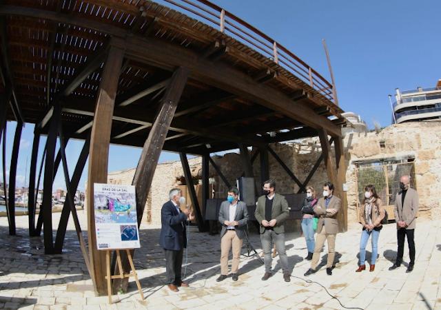 La Diputación de Alicante inyecta un millón de euros en la rehabilitación del recinto de las Eras de la Sal de Torrevieja