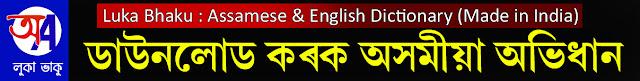 Assamese dictionary