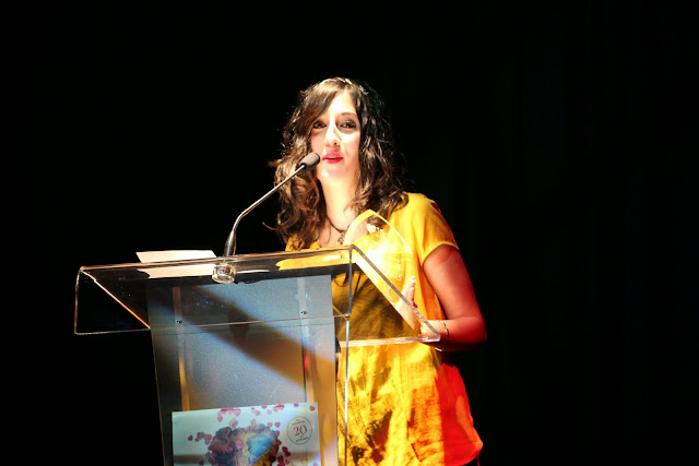 Amaia Barrena en 2015