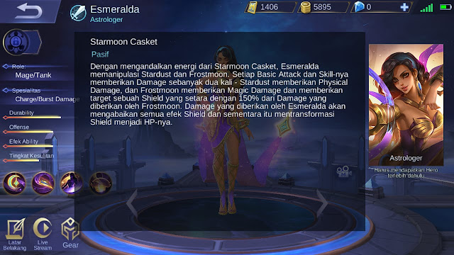 tanggal rilis hero esmeralda di server ori ML