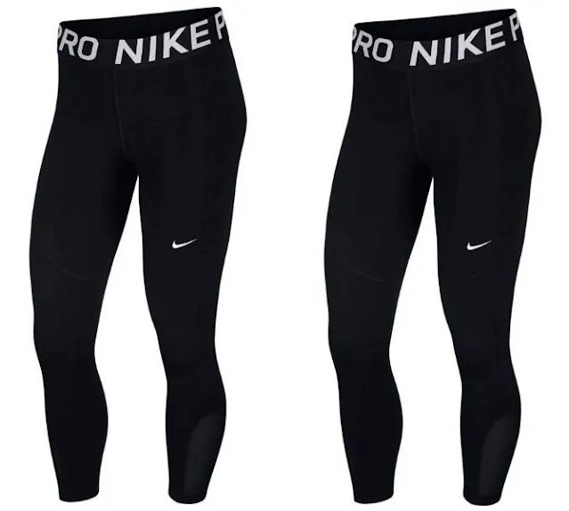 2- Nike Women's Pro Crops Tights