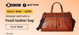 Amazon Quiz 29 November 2019 Answer Win - Exciting Prizes