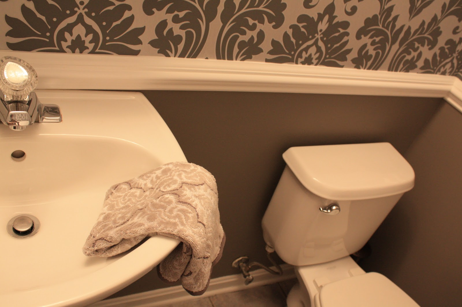 Shush In Your Home: Powder Room - Part 1- Sneak Peek