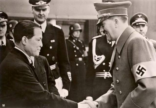 Japanese Ambassador Hiroshi Oshima Meets Hitler 3 June 1941 worldwartwo.filminspector.com