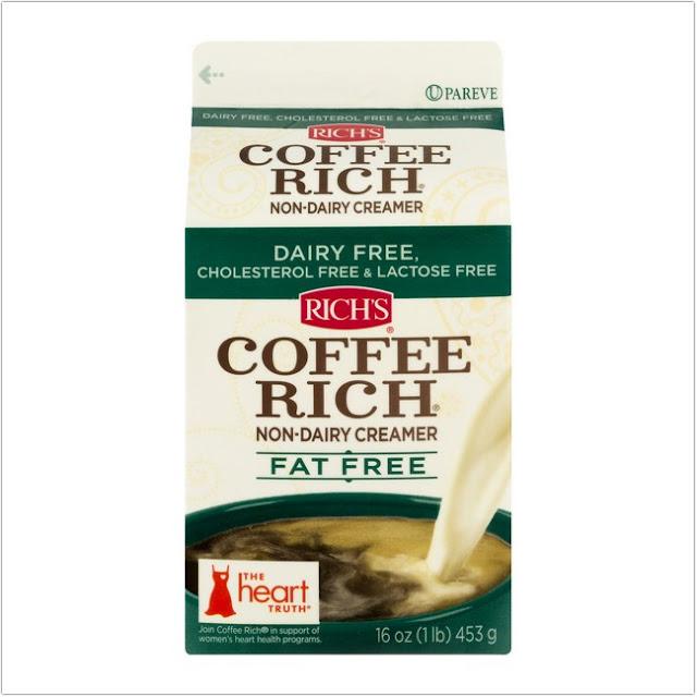 Rich's Coffee Rich Non-Dairy Creamer Fat-Free;Lactose-Free Coffee Creamer;