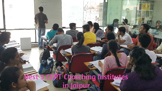 Best 5 CEPT Coaching Institutes in Jaipur