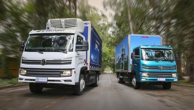 Volkswagen e-Delivery é destaque em feira nesta semana em Belo Horizonte