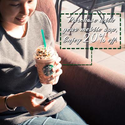 Starbucks Mobile App Banana Split Mocha Frappuccino Promo