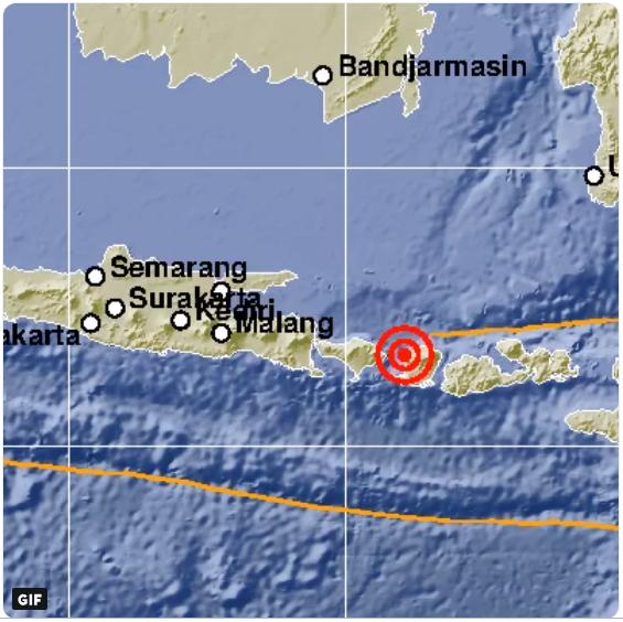 BREAKING NEWS! Gempa 5,7 SR Guncang Lombok Kamis (6/12) Pagi