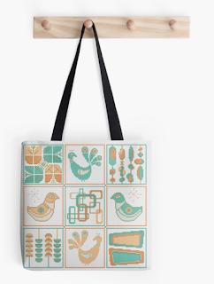 buy this mid-century modern tote bag now