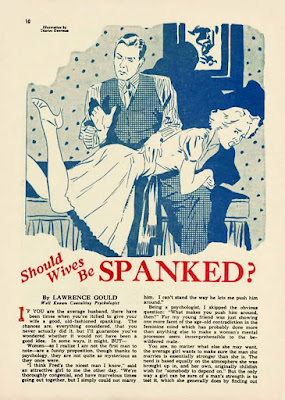 should wives be spanked