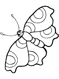 Cute Butterfly Coloring Sheet Print Online