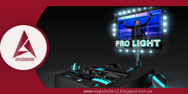 PLANTILLA BLUFTITLER PRO LIGHT ~ EL AYUDADOR