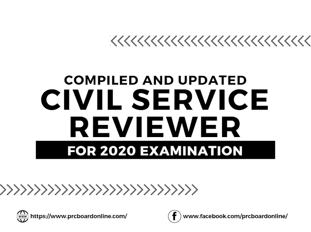 Civil Service Exam Reviewer 2020