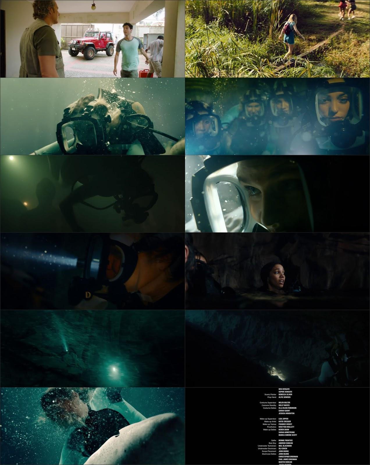 47 Meters Down: Uncaged (2019) Dual Audio [Hindi DD5.1 - English] BluRay HEVC 480P 720P GDrive 1