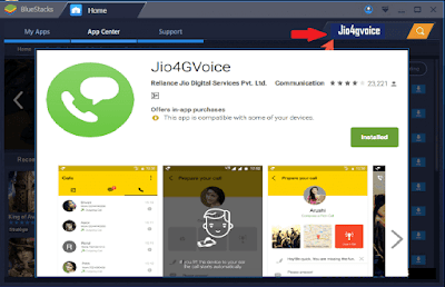 Jio4GVoice for windows