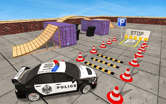 Police Car Parking - Play Free Online Game