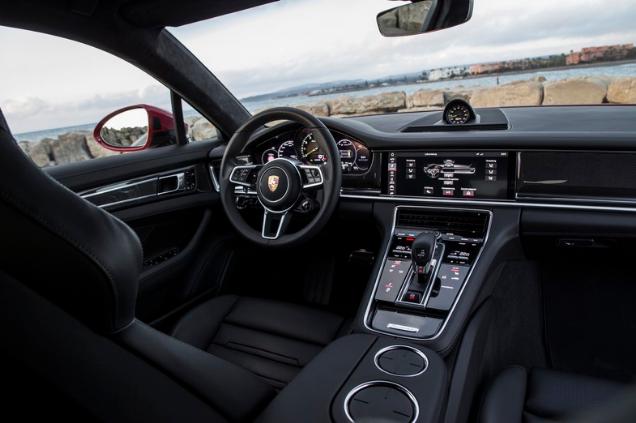 2018 Porsche Panamera Turbo S E-Hybrid Sport Turismo Review