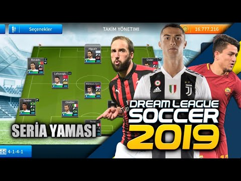 DLS19 Serie A İtalya Ligi Yaması İndir (Ronaldo, Cengiz Ünder, Higuain)