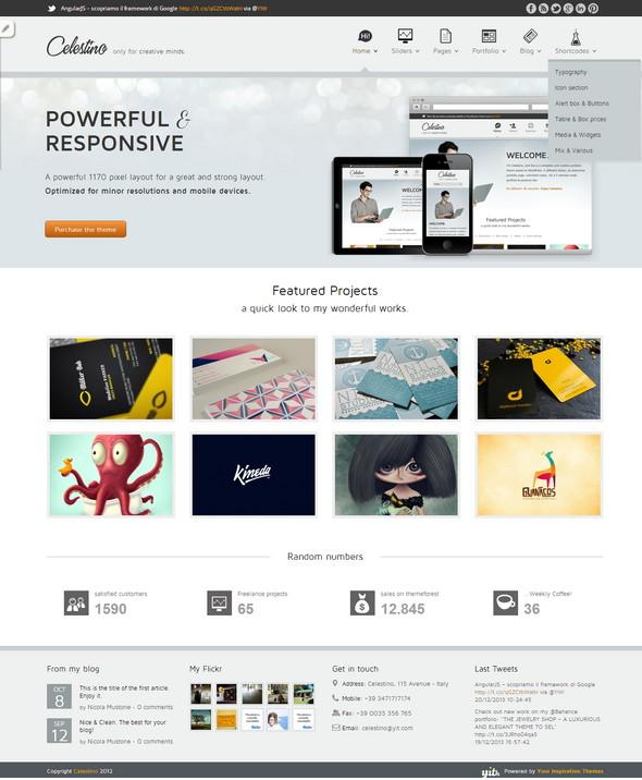 45+ Free WordPress Portfolio Themes - DezignHD - Best Source for ...