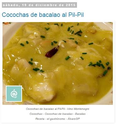 Cocochas de bacalao al Pil-Pil - Pil-Pil - Bacalao - Cocochas - Kokotxas - Recetas TOP10 de El Gastrónomo en marzo 2016 - Álvaro García - ÁlvaroGP - el troblogdita