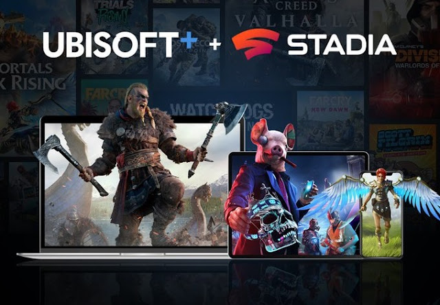 Ubisoft + now available on Google Stadia in selected countries including UK, Canada, France, and Germany | TechNeg