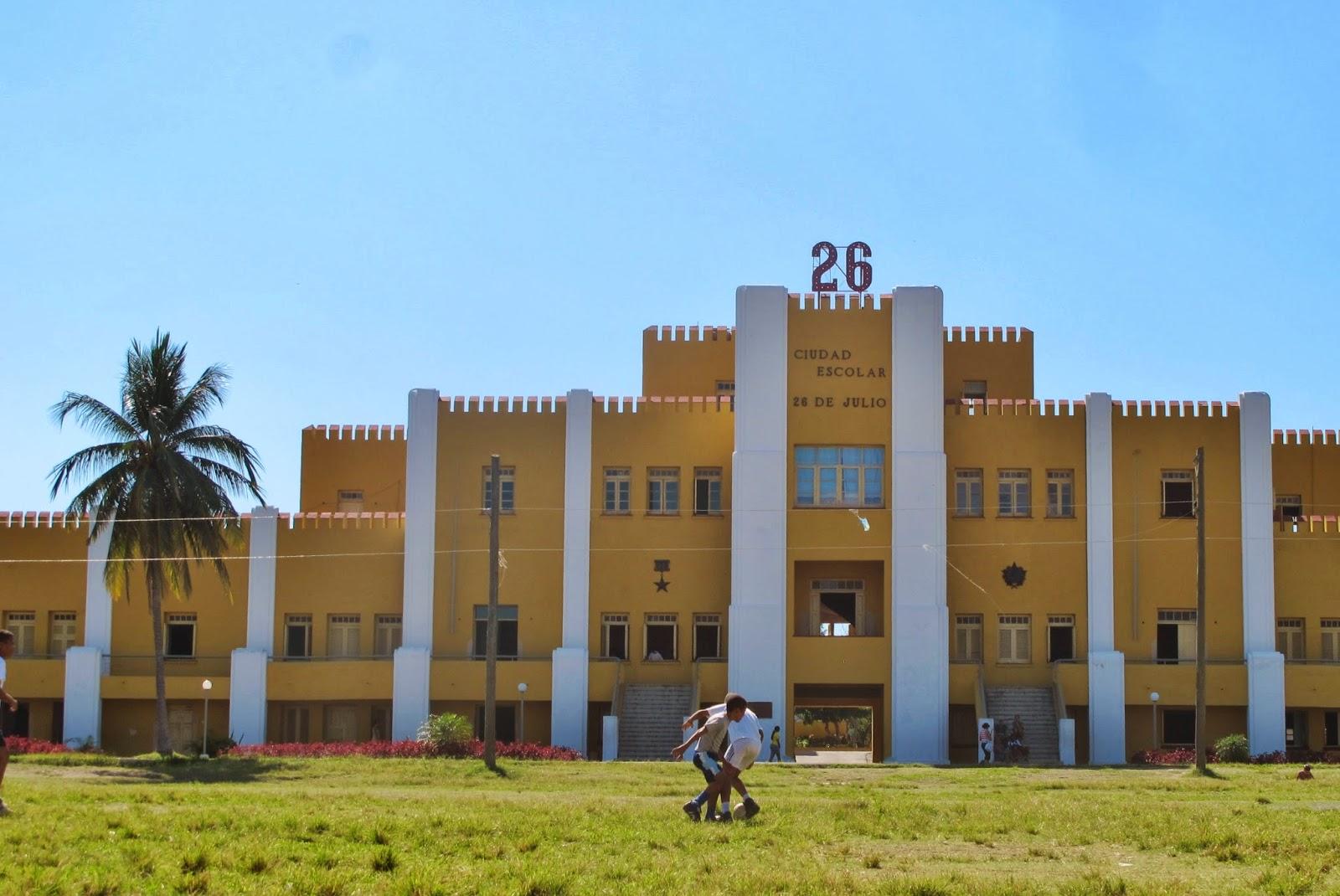 Quartel Moncada, em Santiago de Cuba, onde se iniciou a Revolução Cubana