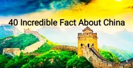 40 + Secret interesting facts about China