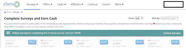 survey berbayar ysense