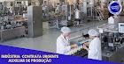 Indústria abre 15 vagas para Auxiliar de Produção