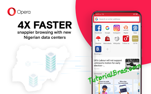 Opera will now offer the fastest browsing experience with its new Nigeria data centers.