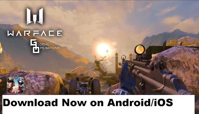 Warface Global Operation Mobile version is now available to download